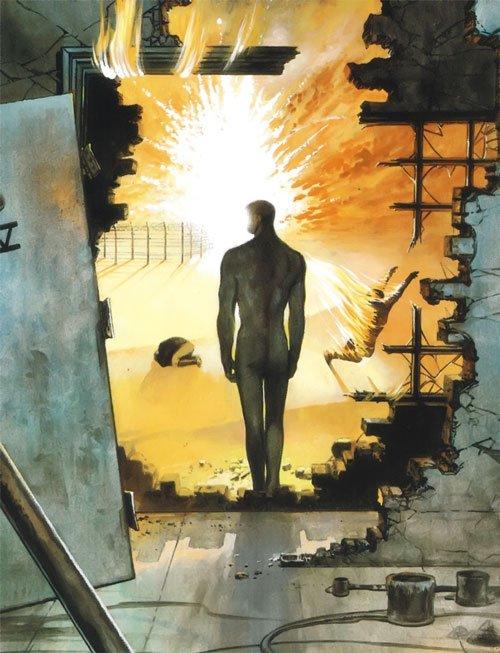 Les 10 meilleures BD de Superhéros de tous les temps V pour Vendetta de Alan Moore