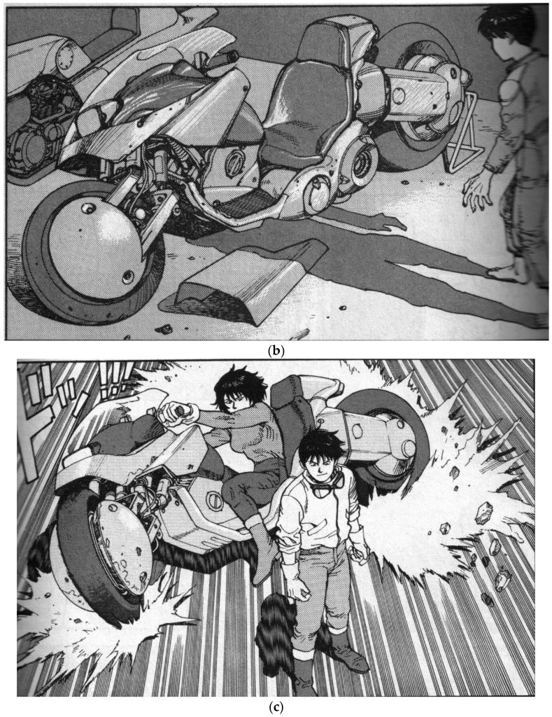 Akira, le manga en noir et blanc