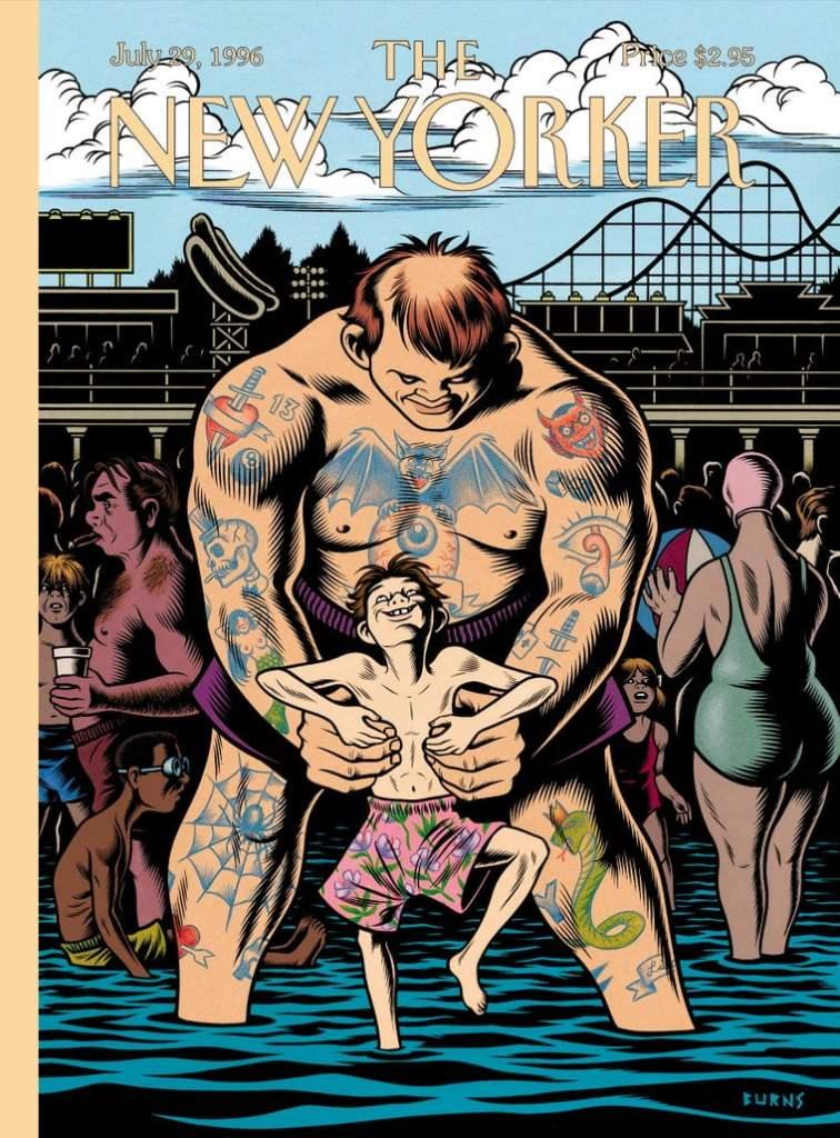 Couverture du magazine the New Yorker