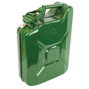 10L Green water jerry can