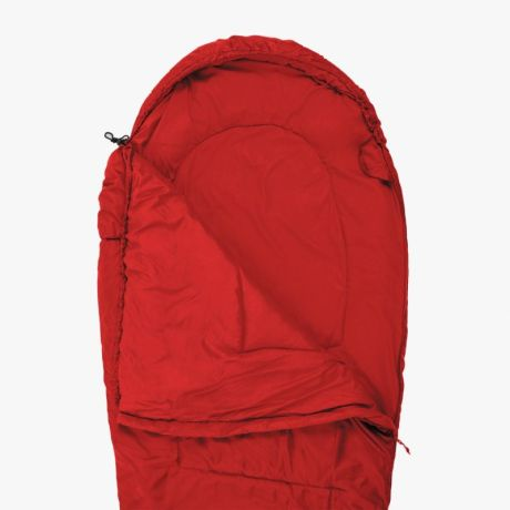 HIGHLANDER-SLEEPLINE-350-MUMMY-SLEEPING-BAG-RED-1