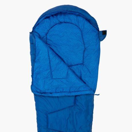 HIGHLANDER-SLEEPLINE-JNR-MUMMY-SLEEPING-BAG-BLUE-2