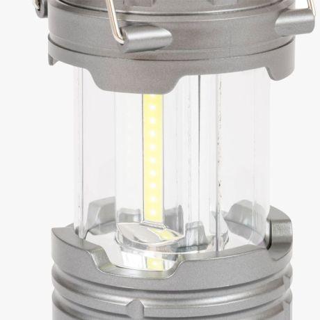 HIGHLANDER-7-LED-COLLAPSIBLE-LANTERN-GREY-300LUMEN
