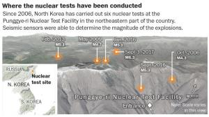 """""""Tired Mountain Syndrome"""" in North Korea could cause collapse that releases devastating radiation"""