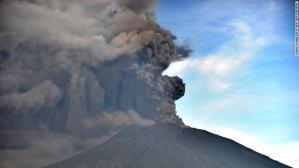 Bali volcano shuts down flights, sends residents scurrying to safety