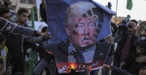"""'Death To America & Israel' – """"Day Of Rage"""" Clashes Lead To First Post-Trump-Speech Deaths"""