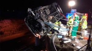 Hero cop stops overturned van from falling off bridge using only his bare hands