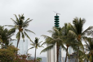 Hawaii tests out 20-minute nuclear attack warning siren – and hardly anyone notices