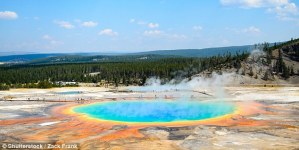 Is the Yellowstone volcano about to blow? Fears a major eruption is on the way after scientists detect a spate of tremors in the area