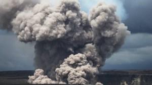 Watch: Hawaii's Kilauea Volcano Erupts, Shooting Plume of Ash 30,000 Feet Into Sky