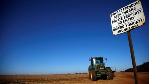 Take away land & the poor will starve, South African farmer warns