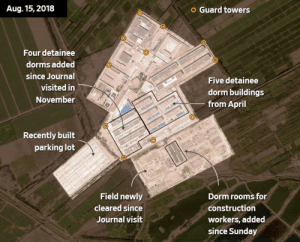 Satellite Shows Sprawling 'Re-education Camps' For Chinese Muslims In Xinjiang Region