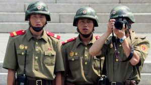 North Korea Accuses US Of 'Plotting Invasion' While Talking With 'A Smile On Its Face'