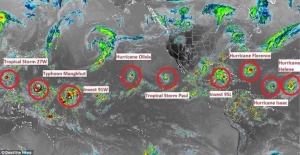 A Record 7 Named Storms Are Swirling Across The Globe