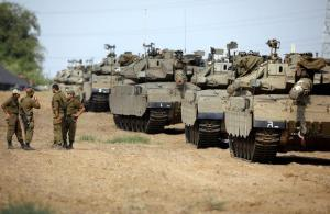 Brink Of War: Troops And Tanks Head To The Gaza Border After Hundreds Of Missiles Rain Down On Israel