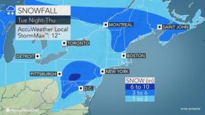 More than 200 million in path of major winter storm sweeping northward across the US