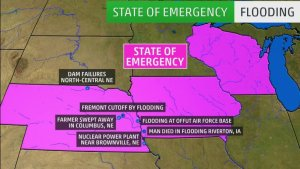 Flooding in Midwest – 3 Dead, Roads Washed Away, Homes ruined, Entire Towns Cut Off, Evacuations, State of Emergency
