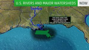 Midwest Flooding Could Lead to Big Dead Zone in Gulf of Mexico