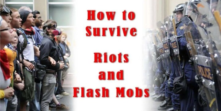 Prepper's Will - How To Survive Riots and Flash mobs