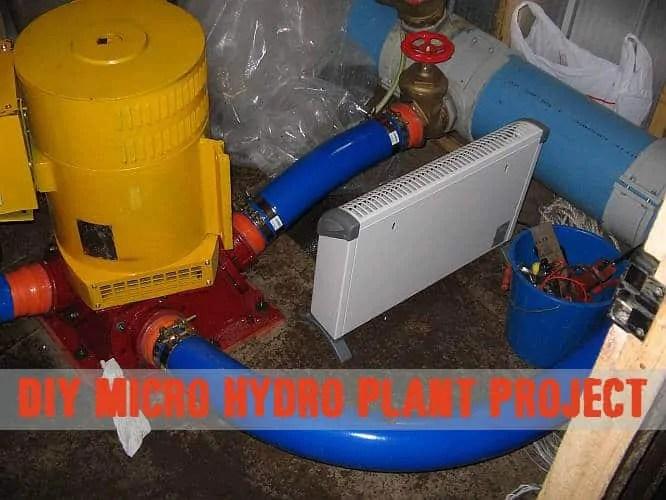 Prepper's Will - DIY Micro Hydro plant