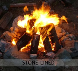 Stone-lined