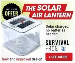 Solar Air Lantern