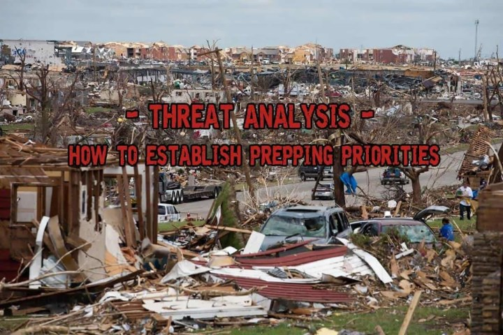 Prepper's Will - Threat Analysis or How to establish prepping priorities