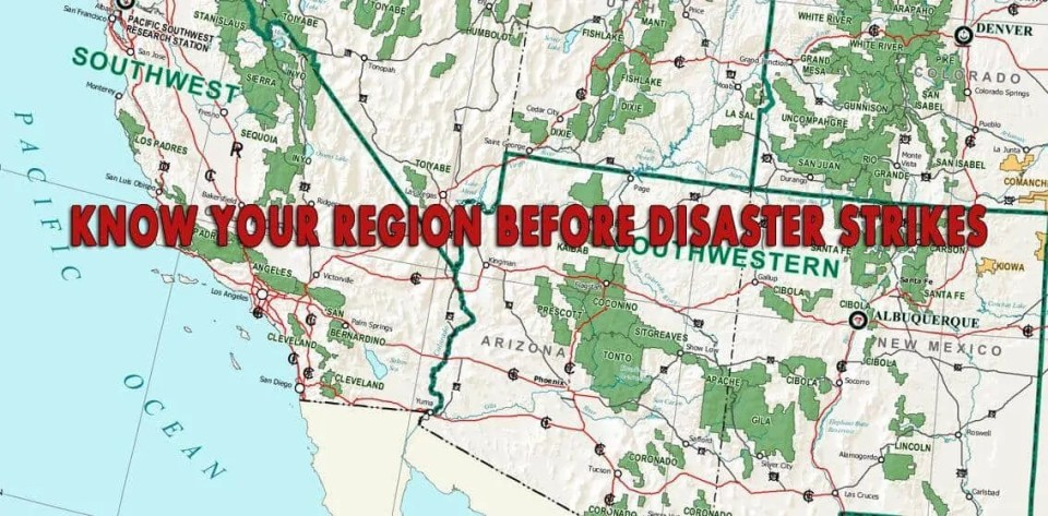 Prepper's Will - Know your region before disaster strikes