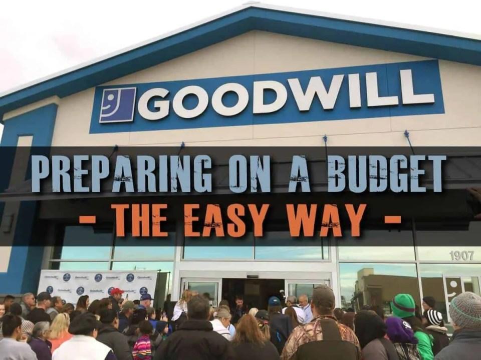 Prepper's Will - Preparing on a budget