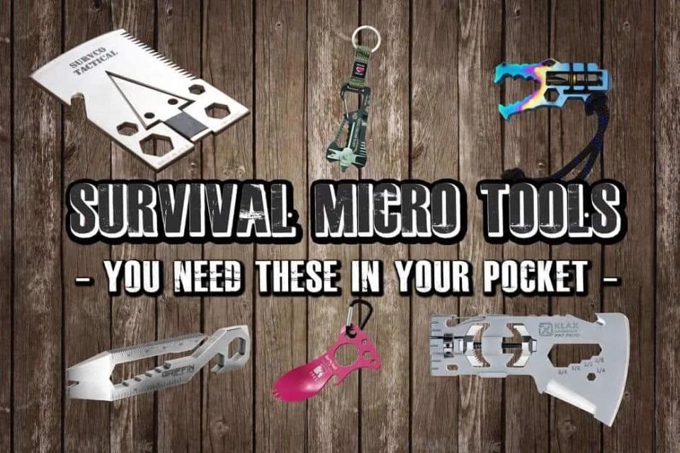 Prepper's Will - Survival Gear - micro tools