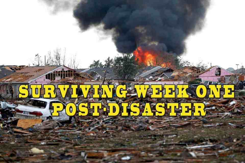 Prepper's Will - Surviving Week One Post-Disaster