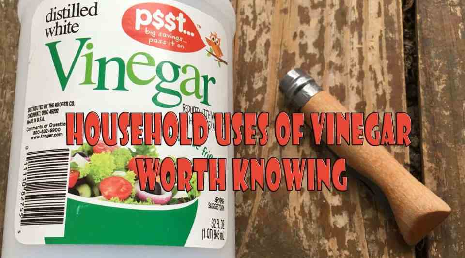 Household uses of vinegar worth knowing