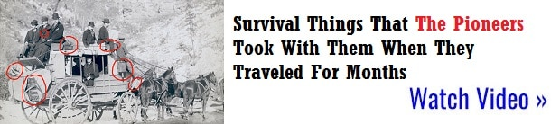 Traveling survival lessons from the first settlers.