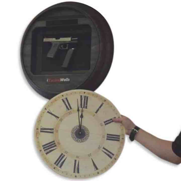 Hide your guns - wall clock