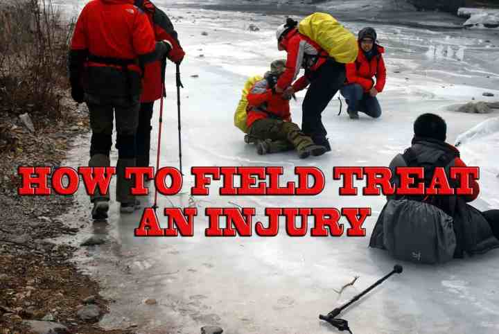 How to Field Treat an Injury