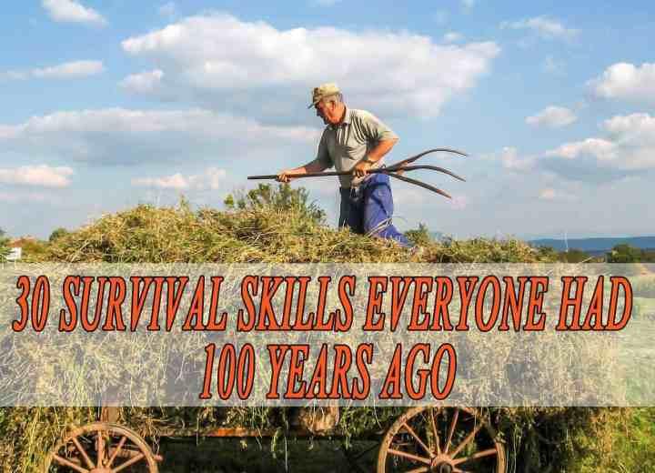 30 Survival Skills Everyone Had 50 Years Ago