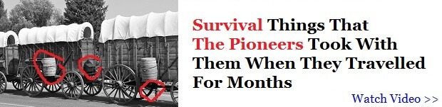 Traveling survival lessons from the pioneers