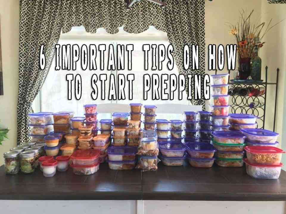 6 Important Tips on How to Start Prepping