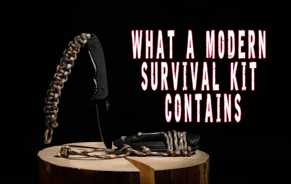 What a Modern Survival Kit Contains