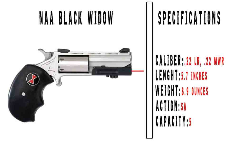 North American Arms Black Widow