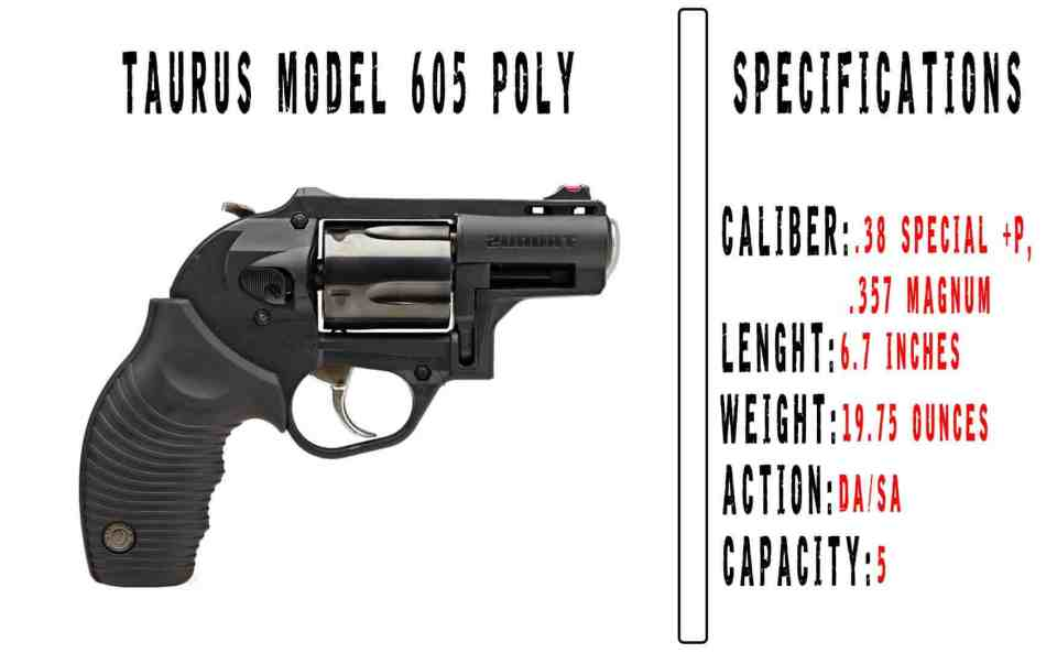 Taurus Model 605 POLY