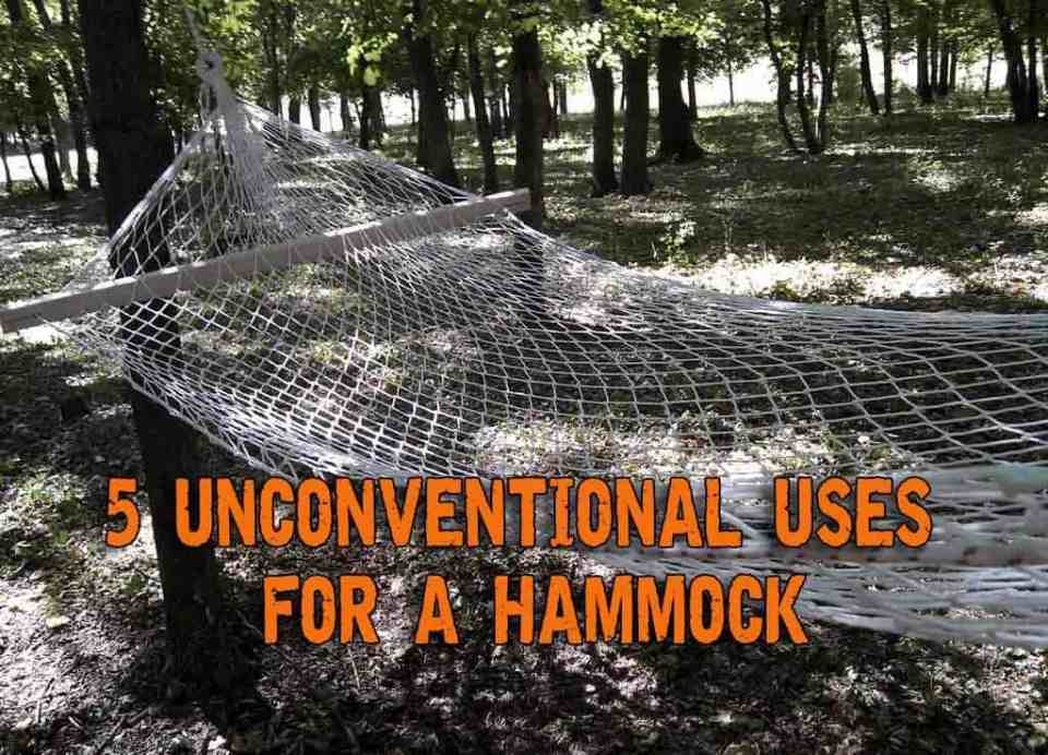5 Unconventional Uses For A Hammock