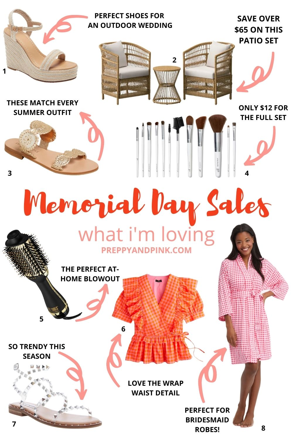 collage of items on sale this memorial day