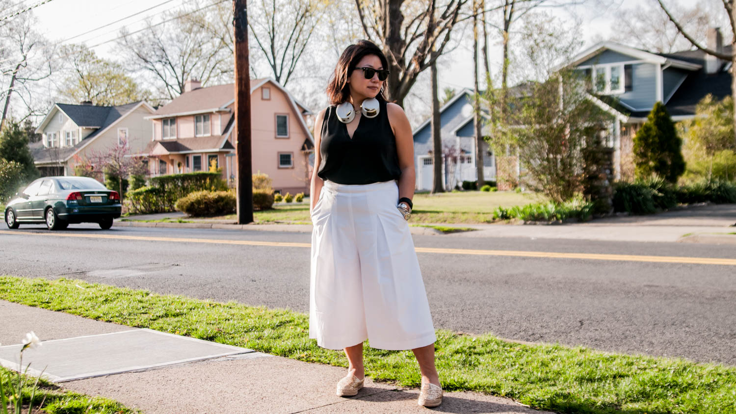 for petites how to style culottes