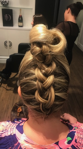 Braid Bun Dream Dry