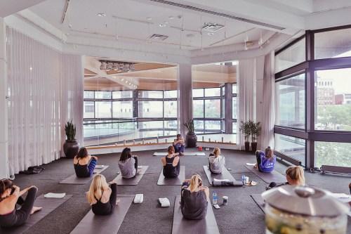 Westin Copley Place Yoga
