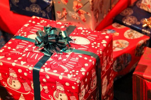 クリスマスのプレゼント交