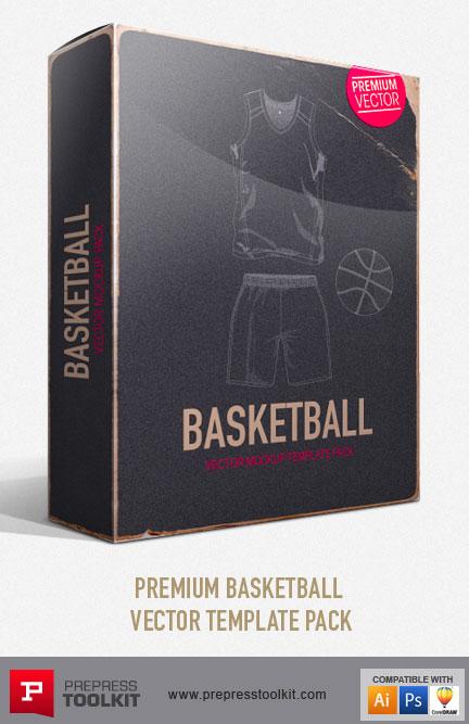 Download Basketball Jersey and Basketball Uniform Vector mockup ...