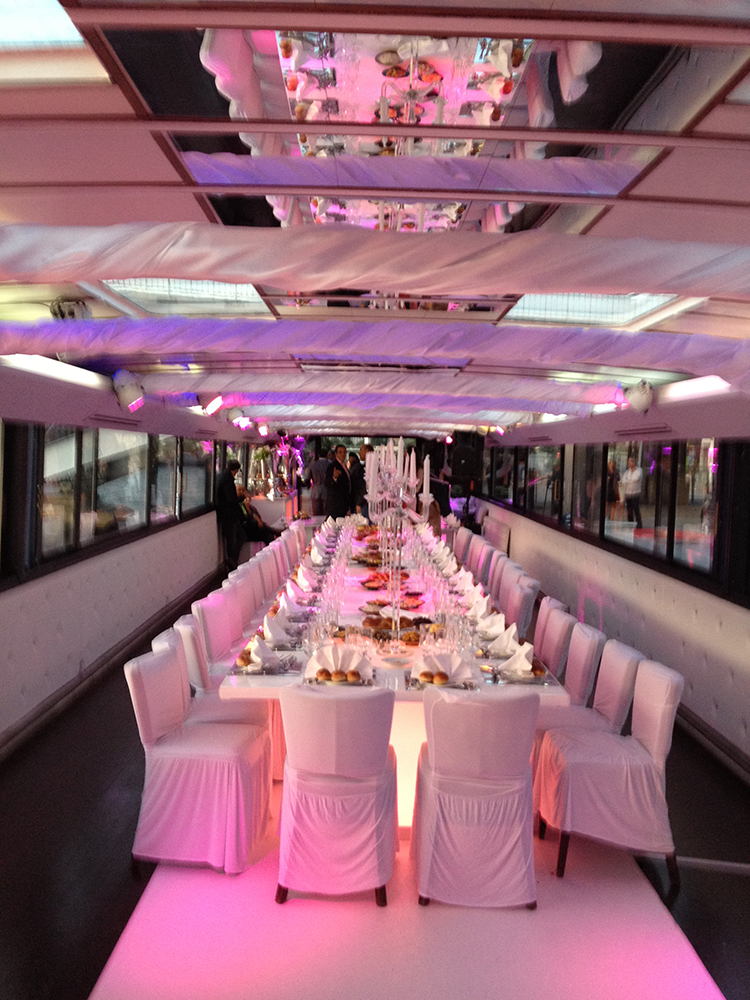 Reception and events