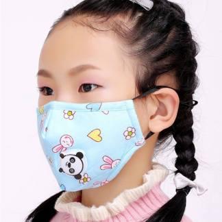 Gesichtsmaske Blau Kinder